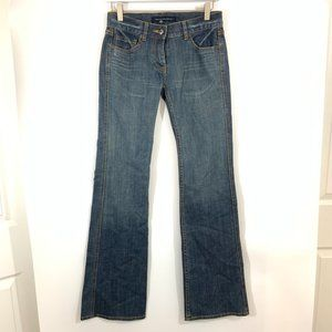 French Connection Boot Cut Jeans 2 Low Rise